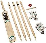 GM Cricket Kids' Maxi Cricket Set, Green, Size 6