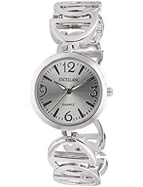 Excellanc Damen-Armbanduhr XS Analog Quarz verschiedene Materialien 180422500032