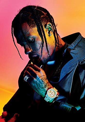 d14a1ae44f03d TRAVIS SCOTT Astroworld PHOTO Print POSTER Birds In The Trap Rodeo Kanye  West Rihanna 005 A3