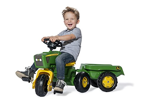 Imagen 1 de rolly toys 052769 - Triciclo en forma de tractor John Deere con sonido [importado de Alemania]