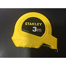 Stanley STHT36125-812 Plastic Short Measuring Tape (Yellow)