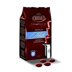 Schokolade für Schokobrunnen, Vollmilch, 900g