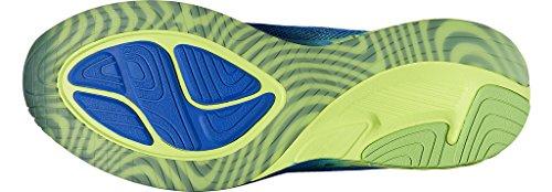 Asics T722n4507, Chaussures de Running Entrainement Homme BLEUE JAUNE