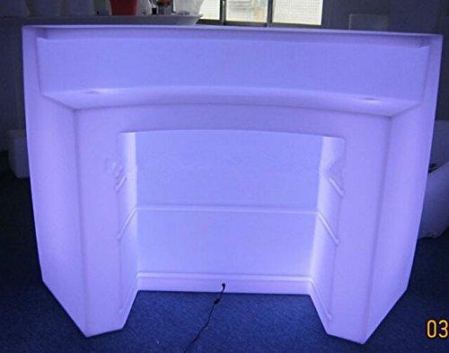 Gowe Multicolor LED rechargeable lumineux meubles, barre d'angle, LED Break Table de bar, télécommande lumineuse LED Comptoir de bar