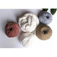 PACK laine pour le tissage