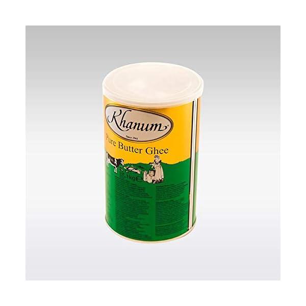 Khanum Butter Ghee | Clarified Butter | Secret Ingredient for Indian Cooking | Ideal for Sautéing, Braising, Pan-Frying… 2