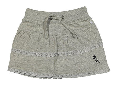 SOLITTLE Baby-Girls' A-Line Skirt (SL04/SK/G1--6-12 Months, Grey Mélange, 6-12 Months)