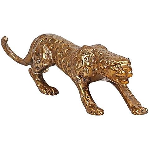 Soggiorni Ling WL1, 646 Panther Design statuetta decorativa in alluminio, oro