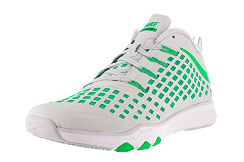 Nike Herren Train Quick Wanderschuhe Plateado (Pure Platinum / Rage  Green-Black)