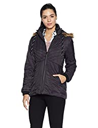 Fort Collins Womens Cape Hoodie (17908 AZ_black_L)