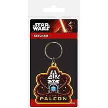Star Wars Episode VII Llavero caucho Millennium Falcon 6 cm