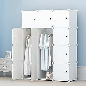 premag garderobe aus kunststoffmodulen zur aufbewahrung von kleidung accessoires spielzeug. Black Bedroom Furniture Sets. Home Design Ideas