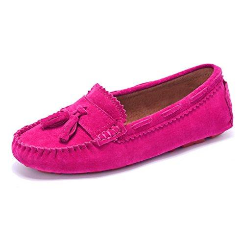 Scarpe donne di grandi dimensioni con piatto/Scarpe tempo libero/Madre con scarpe piatte-C Lunghezza piede=24.8CM(9.8Inch)