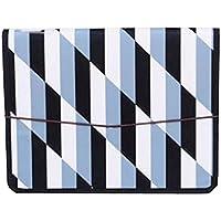 (13 bolsillos) - Organizador de archivos de acordeón desplegable A4 portátil, con etiquetas de color, E
