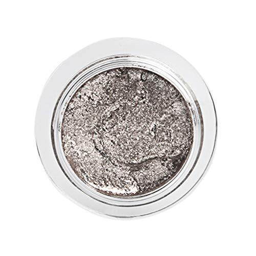 wyxhkj Ombre à paupières Poudre à haute brillance métallique de perle de scintillement de maquillage de fard à paupières cosmétique (C)
