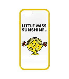 Case Scenario Mr Men/Little Miss Coque pour iPhone 6 Motif Little Miss Sunshine Multicolore