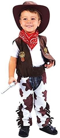 Wild West Cowboy Costume Woody Toy Story pour enfant taille 2–3ans