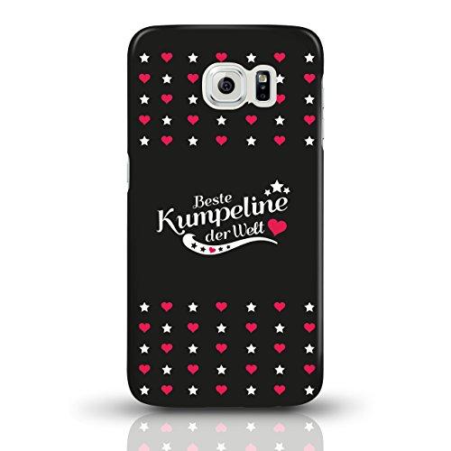 """JUNIWORDS Handyhüllen Slim Case für Samsung Galaxy S6 mit Schriftzug """"Beste Kumpeline der Welt"""" - ideales Weihnachtsgeschenk für die Kumpeline - Motiv 4 - Handyhülle, Handycase, Handyschale, Schutzhül motiv 3"""