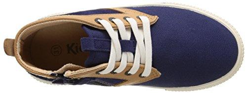 Kickers Perouze, Sneakers Hautes garçon Bleu