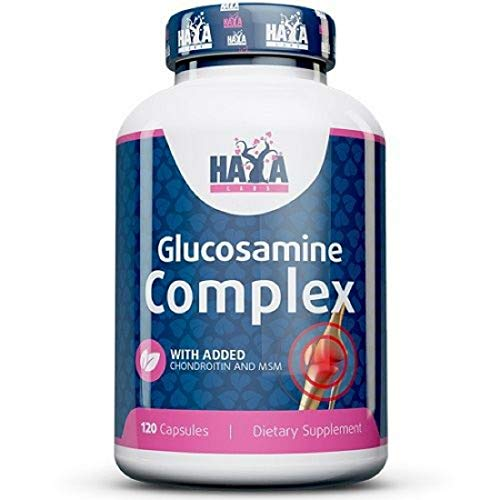 Haya Labs Glucosamine Chondroitin & MSM Complex 120 capsules Supports Healthy Joints - Joint Support Supplement