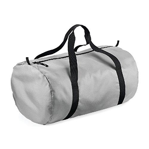 Packway Barrel Bag- Borsone tubolare campeggio/mare Grigio