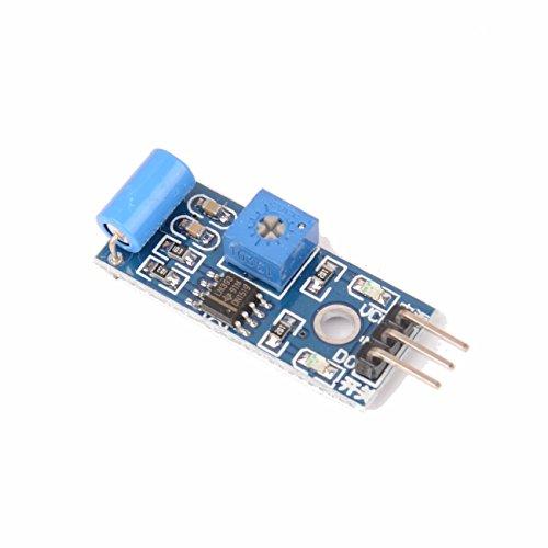 Lonfener SW-420 Motion Sensor Module Schwingungsschalter Alarm Sensor Modul für Arduino