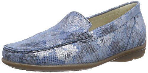 Waldläufer  Harriet, Mocassins (loafers) femme Bleu - Blau (Monet jeans)