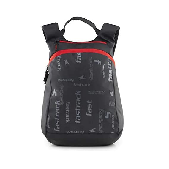 Fastrack Volume Capacity Ltrs Black Casual Backpack (A0599NBK01)