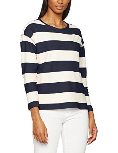 Esprit, Sweat-Shirt Femme Multicolore (Off White)