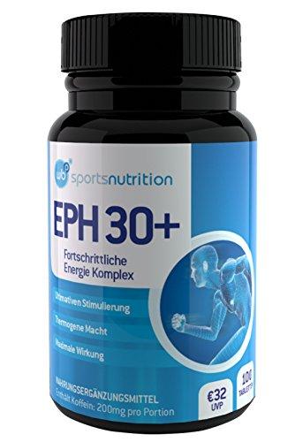 WBP Eph30+ - Fortschrittliche Energie Komplex - Diät und Abnehmen Tabletten (Flasche (100 Tabletten))