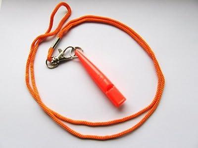 Acme 210.5 Dog Whistle - Orange with lanyard from Acme