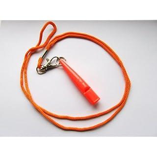 Acme 210.5 Dog Whistle - Orange with lanyard