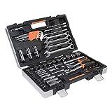 Ribelli 94-teilig Werkzeugkoffer, Werkzeugset ideal für den Haushalt oder die...