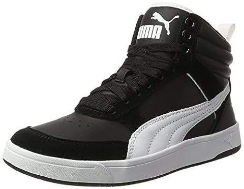 Puma Unisex-Erwachsene Rebound Street v2 Sneaker, Schwarz (Black-White), 41 EU