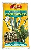 RAGGIO DI SOLE Fleur du Soleil Terriccio Piante Grasse 10 L.
