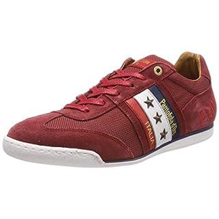 Pantofola d'Oro Herren Imola 2T Canvas Uomo Low Sneaker, Rot (Racing RED .90J), 43 EU