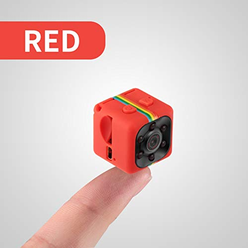 CSCF Original SQ11 SQ13 Micro Kamera, HD 1080 P DV Mini 12MP Sport Kamera, Auto DVR Nachtsicht Video Diktiergerät Mini Action Cam, Rot