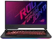 Asus ROG STRIX G G531GT-BQ164T-STRIX G Gaming  Laptop (Black) - Intel i7-9750H 4.5 GHz, 16 GB RAM, 512 GB SSD, Nvidia GeForce GTX 1650, 15.6 inches IPS Windows 10, Eng-Arb-KB