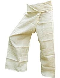 Panasiam® Fisher pants, 100% Hanf, Cremeton