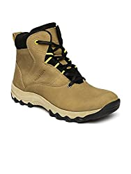 Provogue Mens Camel Black Synthetic Boots (PV8168) - 7 UK
