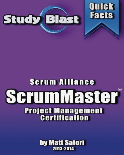 Study Blast CSM Certified ScrumMaster Exam Study Guide: Scrum Master Certification Exam Prep por Matt Satori