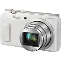 Panasonic LUMIX DMC-TZ58EG-W Travellerzoom Kamera (16 Megapixel, 20x opt. Zoom, 3-Zoll LCD-Display, Full HD, WiFi, 24 mm Weitwinkel-Objektiv) weiß