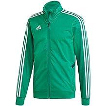 Adidas TIRO19 TR JKT Jacket, Hombre, Bold Collegiate Green/White, M