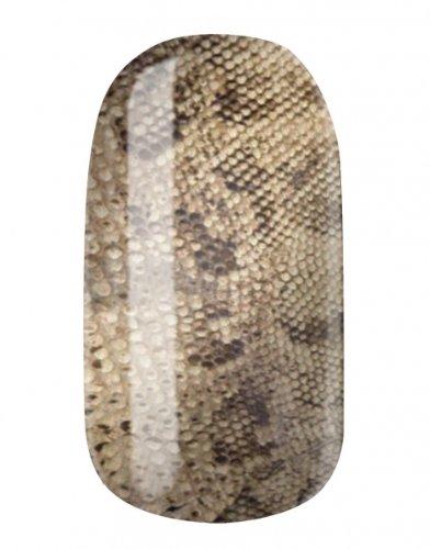 Film Viper (NAGELFOLIEN by GLAMSTRIPES NAIL WRAPS - SAND VIPER)