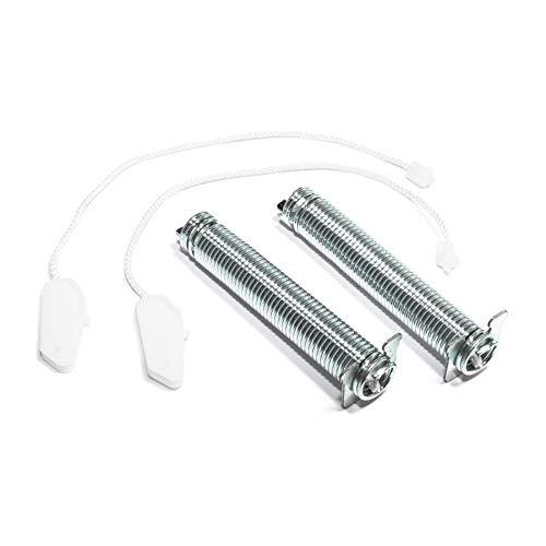 Türfedern Satz mit Seilzügen Reparatursatz passend für Bosch Siemens Viva 00754869 754869 Farbcode schwarz