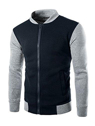allegra-k-uomo-colore-a-blocchi-colletto-verticale-zip-sul-davanti-comodo-outdoor-giacca-stile-varsi