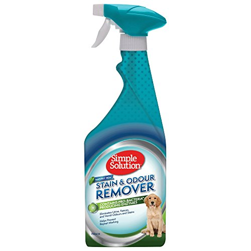 Simple Solution quitamanchas y olores para perros, Rainforest Fresh, 750ml