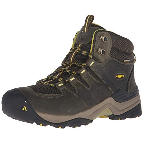4153OUJ7sfL. SS500  - KEEN Men's Gypsum Ii Mid Wp High Rise Hiking Shoes, 1