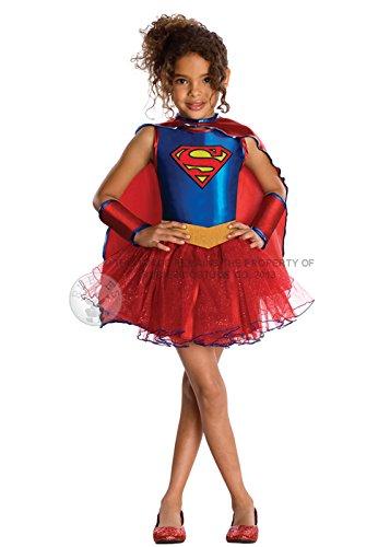 Rubies Kost-me Supergirl Tutu Kinderkost-m Small - (Kostüm Tutu Kind Supergirl)