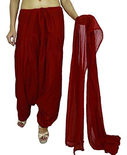 Indische Kleidung aus reiner Baumwolle Pyjama Sommer Kleidung Plain Salwar Frau Hosen Salwar Hose